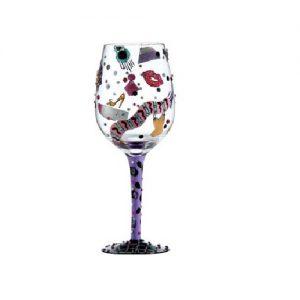 Copa de vino shopaholic Lolita